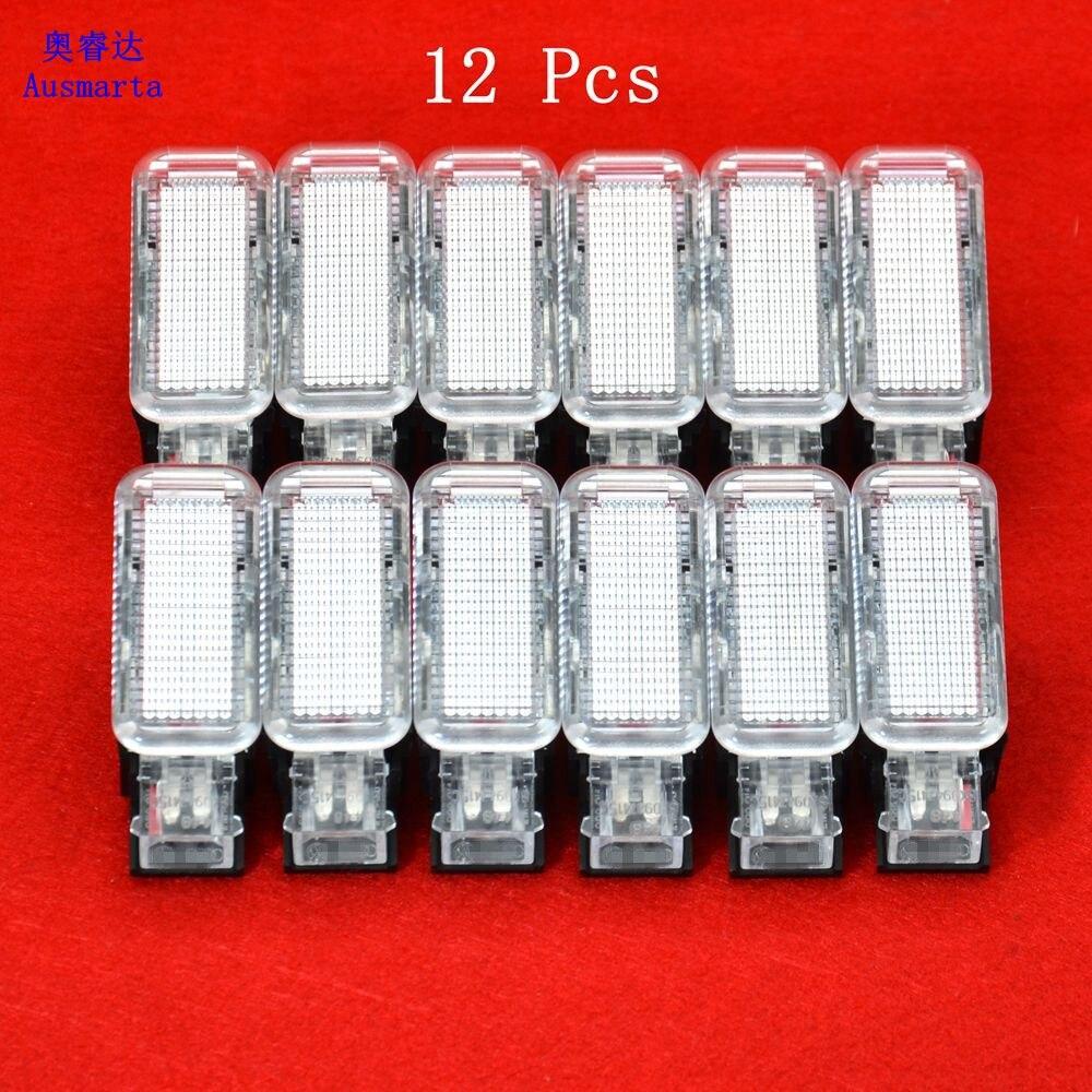 12 Pcs OEM  Door Warning Light For VW Sharan Phaeton  Yeti Seat Leon A6 A3 A7 Q3 Q7 Q7  8KD 947 415C 8KD947415C<br>