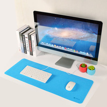 Computer arm support Desk Mat Modern Table Felt Office Desk Mat Mouse Pad Pen Holder Wool Felt Laptop Cushion Desk Mat Pad80x30