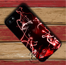 Dj Turn Table red lines case for iphone 4s 5 5s SE 5c 6 6s 7 Plus iPod 5 6 Samsung s3 s4 s5 mini s6 s7 s8 edge plus Note 3 4 5