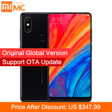 Global Version Xiaomi Mi Mix 2S 6GB 64GB Snapdragon 845 Octa Core 5.99'' Full Screen 4G Mobile Phone 12MP 20MP Dual PD Camera CE