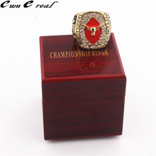 Manufacturer Delivery 2005 Texas Longhorn Rose Bowl Champion Rings / High Quality Wooden Box Men's Sports