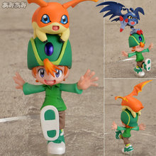 "Japanese Anime ""Digimon Adventure"" Original MegaHouse G.E.M. Series 1/10 Complete Figure - Takeru Takaishi & Patamon"