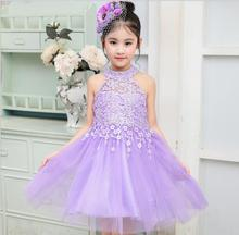 Childrens Dresses Wedding Cute Girl Birthday Party Dress Elegant Kids Wedding Dresses High-grade Princess Belle Clothing
