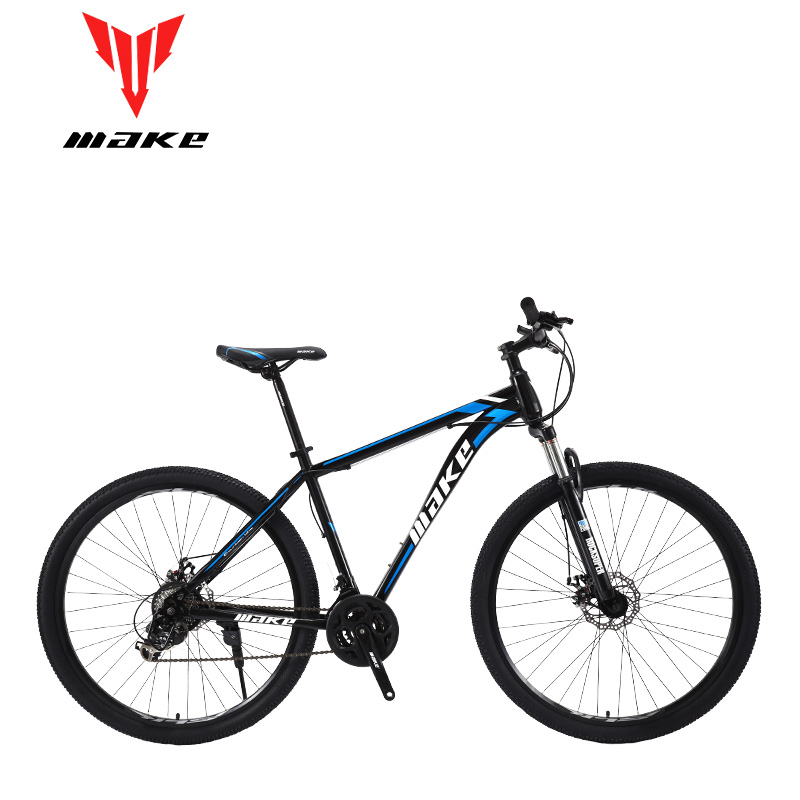 Make steel frame  Mountain Bike 29 wheel, 24 speed SHIMANO title=