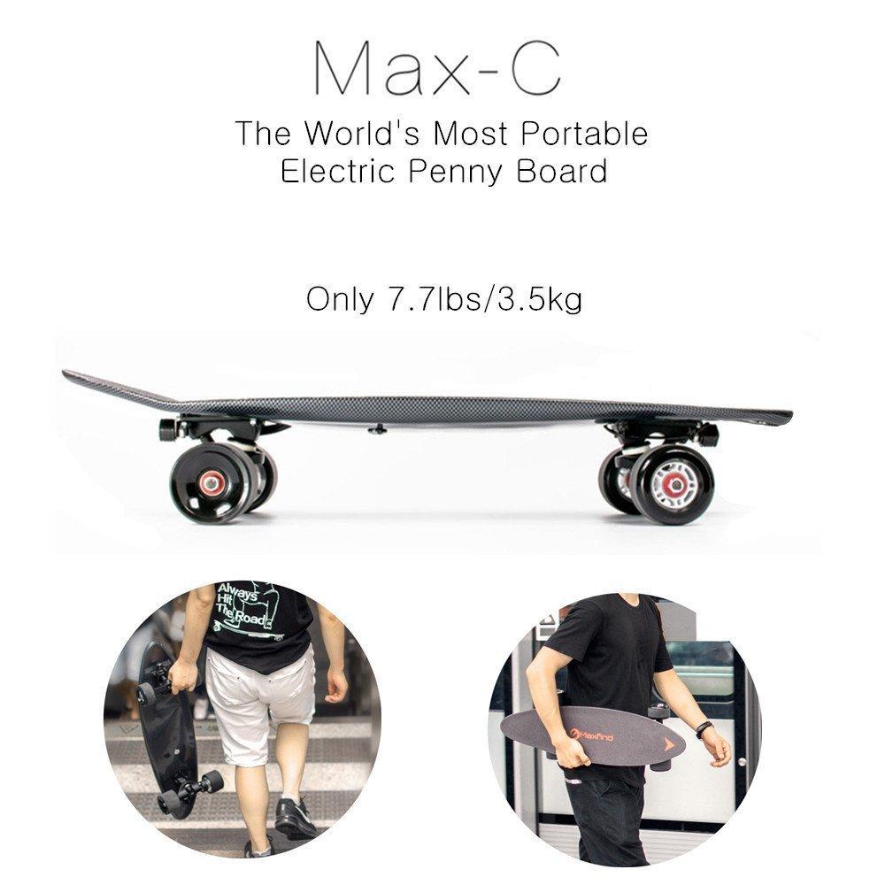 portable electric penny board