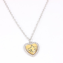 10 Style Football Team New Orleans Saints Charm Pendant Necklace Alloy Sport Series Dangle Charms Necklace Jewelry For Fans Gift(China)