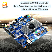 Hight perfermance dual core ddr3 motherboard atom D2700 pc mainboard with Onboard 1333MHz DDR3 2GB RAM