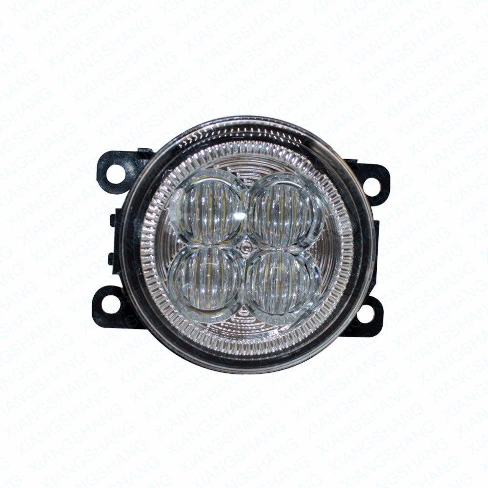 LED Front Fog Lights For JAGUAR XK Coupe _J43_ 2006-2013 2014 2015 Car Styling Bumper High Brightness DRL Driving fog lamps 1set<br>