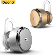DAONO 007 Bluetooth Earphone Mini Sport Wireless Bluetooth 4.0 Portable Headset With Mic Earbuds Handfree For Phone PC