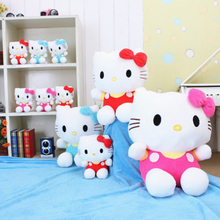 20CM Cute Hello Kitty Plush Stuffed Toys for Children Kids Baby toy lovely Doll hello kitty plush toy gift for children F(China)