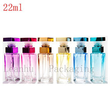 25PC X 22ML High-End Atmosphere Square Spray Perfume Bottles,Perfumes And Fragrances For Women,Glass Perfume Bottles Wholesale