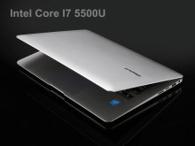 Aluminium ultrabook laptop Core I7 5th.Gen backlit keyboard 4GB 128GB SSD 1920*1080 HD screen camera Windows 10 notebook PC