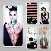 Big Bang Hard White Cell Phone Case Cover for Apple iPhone 4 4s 5 5C SE 5s 6 6s 7 8 Plus X(China)