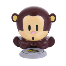 1Pcs Professional Nail Dryer Cute Monkey Shaped Manicure Nail Polish Blower Mini Air Dryer Nail Art Tools(China)