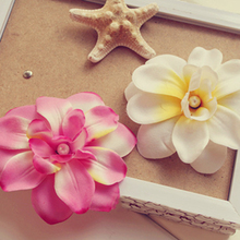 Pretty Charming Artificial Freesia Cloth Flower Heads for Photography Wedding Festival Decoration