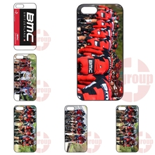 New Fashion Bmc Racing Cycling Bike Team For Apple iPhone 4 4S 5 5C SE 6 6S 7 7S Plus 4.7 5.5 iPod Touch 4 5 6