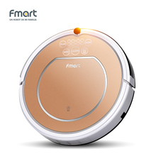Fmart E-R302G(S) 3 in 1Robot Vacuum Cleaner Home Cleaning128ML WaterTank Wet 300ML Dustbin Sweeper Aspirator Cleaning