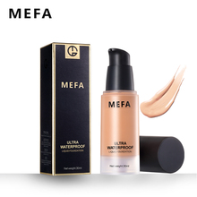 MEFA Super Ultra Water-Resistant Liquid Foundation 1Pcs 30ML Concealer Moisturizer Oil-control Base Makeup Primer Comestic(China)