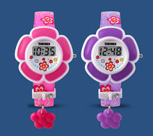 Digital Time Teacher Easy Fasten Childrens Watch Kids xmas Gift Girls and Boys