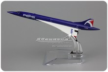 5pcs/lot Wholesale Brand New Airplane Model Toys Air France Concorde Airline Speical Pattern 15CM Diecast Metal Plane Model Toy