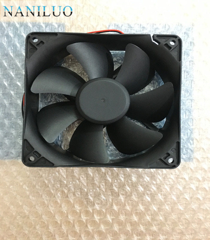 NANILUO  EEC0382B3-0000-A99 12038 120mm 12cm DC 24V 3.1W 2-wire -pin server inverter case axial cooling fans