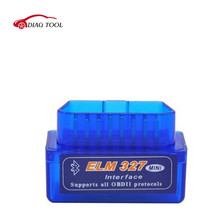 HOT!! OBD mini ELM327 Bluetooth OBD2 V2.1 Auto Scanner OBDII 2 Car ELM 327 Tester Diagnostic Tool for Android Windows Symbian