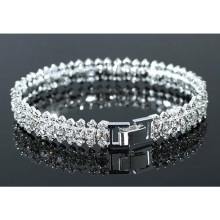Wedding Party Bridesmaid Crystal Bangle Bracelet CB040(Hong Kong)