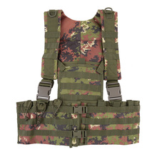 Airsoft Tactical Military Molle Combat Assault Plate Carrier Vest Tactical Vest Wargame Protective CS Outdoor Hunting Vest