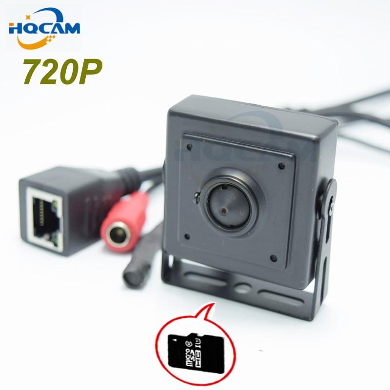 HQCAM TF card 720P Audio Mini IP Camera Home Security Camera IP Cam Indoor Security CCTV IP Kamera optional 3.6\2.8\2.1mm Lens <br>