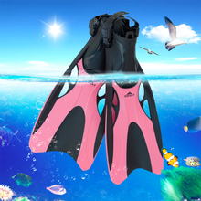 adjustable swimming Fins training Shoes For Swimming Fins Men/women Adult Child Underwater(China)