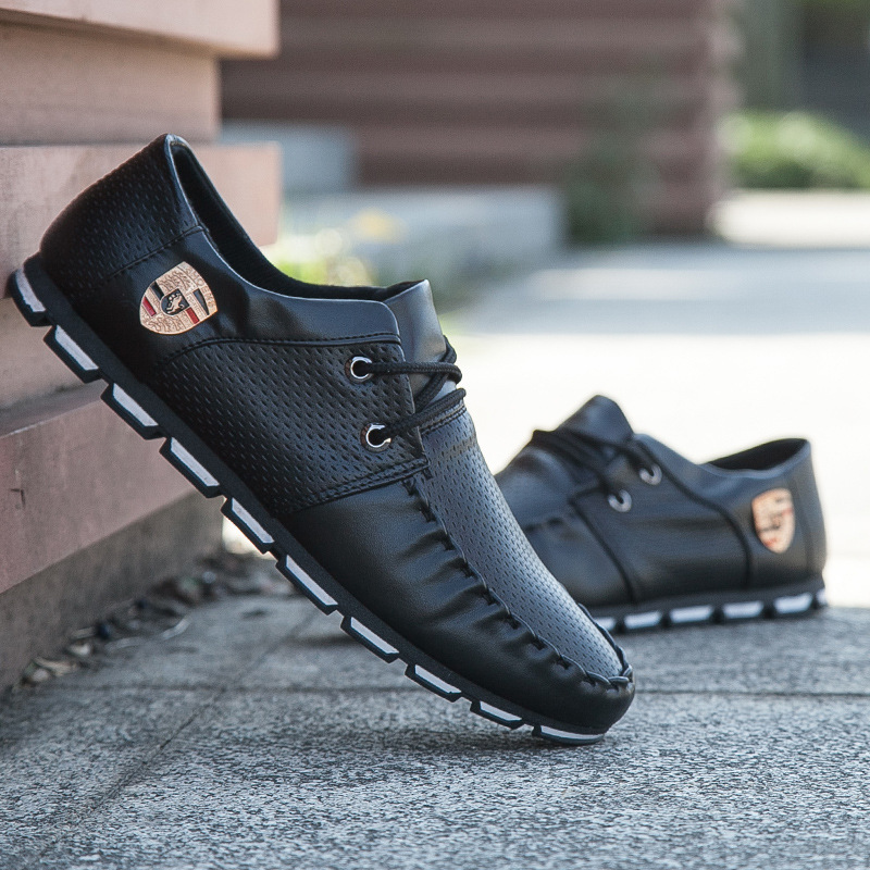 2017 New Brand Fashion Summer Soft Moccasins Men Loafers High Quality Genuine Leather Shoes Men Flats Gommino Driving Shoe