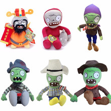 New Arrival 30cm Plants vs Zombies Plush Toys PVZ Zombies Plush Doll For Kids Children Xmas Gifts