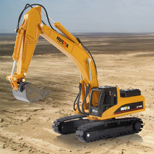 1:50 Excavator Alloy New Engineering Vehicles  Track Car Toys Kid Gift