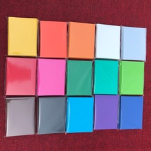 13 colors 100 PCS/LOT Colorful Matte Cards Sleeves MTG Cards/Proxy Cards Protector , Magical Board Game Cards Shield Sleeves(China)