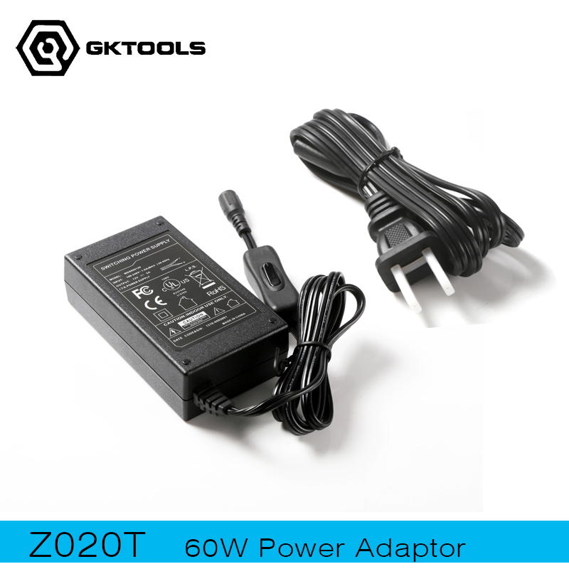 GKTOOLS, 12V,5A, 60w Power Adaptor with Switching, Supply Dedicated for 60W mini machine,Z020T<br>