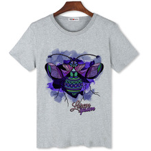 BGtomato colorful insect art t shirts for men original brand new fashion popular cool shirts cheap sale(China)