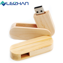 LEIZHAN 16GB Wooden USB Flash Drive 4GB 8GB 32GB 64GB pen drive customized usb flash stick pendrive memory stick flash card disk