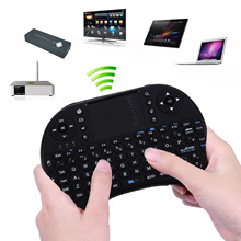 2.4G Wireless Mini Fly Air Mouse Touchpad British Keyboard  with USB Receiver For PC Andriod TV Box Media Mini TV PC Stick HTPC
