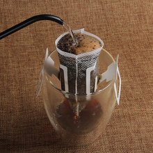 100pcs Disposable Drip Coffee Cup Filter Bags Hanging Cup Coffee Filters Coffee and Tea Tools(China)