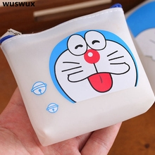 fashion Cartoon silicone purse children wallet cute small coin case casual change purse for girls kawaii bag coin purse