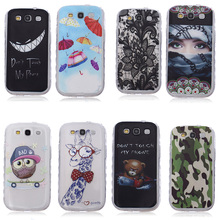 Soft TPU Mobile Phone Case Cover For Samsung I9300 Galaxy S III LTE S3 I9305 I9308 I747 T999 GT-I9300 GT-I9301 S3 Neo SIII Cases