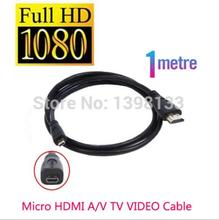 Micro Hdmi 1.5m Cable to TV HDTV For Sony a5000, a5100, a6000, a6300, HX400, HX300, HX90V, HX50V, WX500, WX350 WX300 WX80, RX100