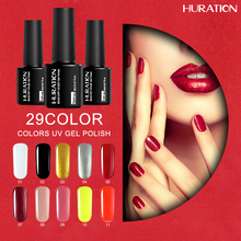 Huration Lucky Gel Long Lasting Professional Brand Gel Polish Soak Off 29 Colors Gel Varnish Nail Art Cheap Gel Varnish(China)