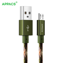 Micro USB Android Charger Cable,APPACS6.6Ft Nylon Braided High Speed 2.0 USB Micro USB Charging Cord Samsung Galaxy ,LG