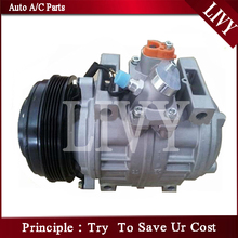 10p30c Air Conditioning Compressor Bus ac compressor for Toyota Coaster 447220-0394 24V 5PK