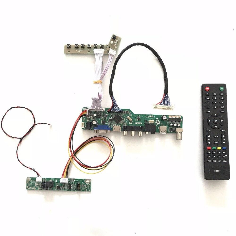 Free Shipping T.V56.03 VGA HDMI AV Audio USB TV LCD TV Controller Board Kit for 24 inch M240HTN01.2 1920X1080 LED raspberry  PI<br>