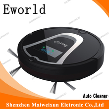 Eworld China Manufacturer Supply Household Wet and Dry Vacuum Cleaners with Remote Control and Recharging Function Model  M884