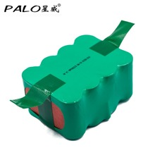 PALO Rechargeable Vacuum Cleaner Robot  Sweeper Battery 14.4V 3500Mah Fit For Zebot KV8 XR210C/210B For FMART FM-019 For KAILY
