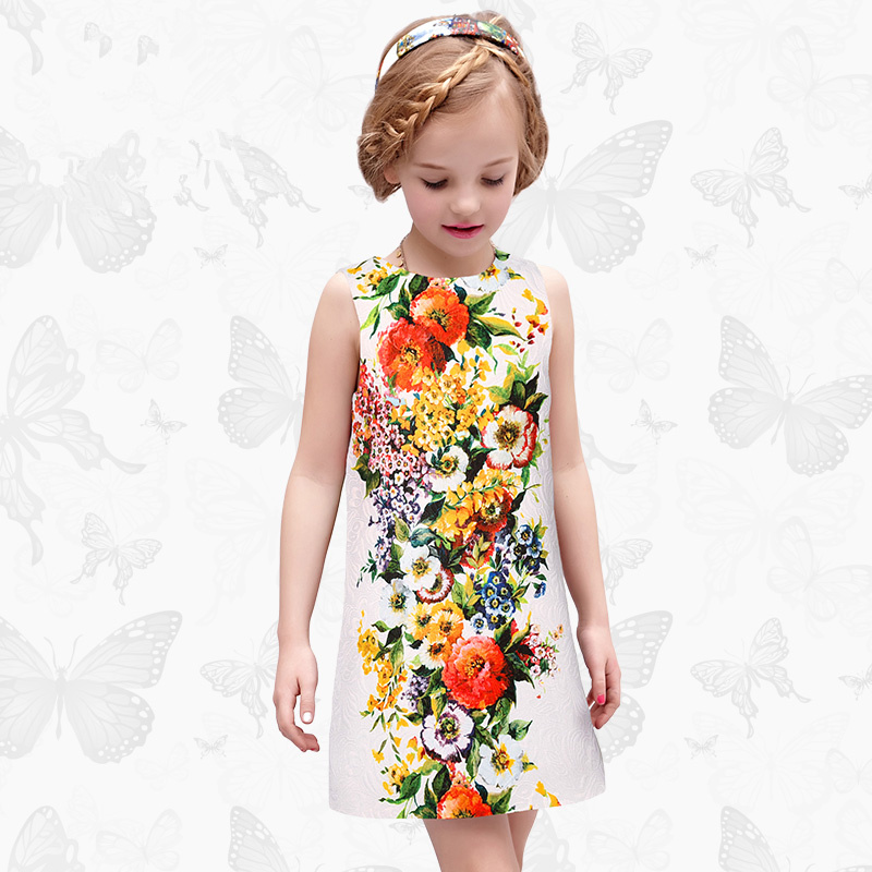 1 Girls Dress with Handmade Dragonfly 2017 Brand Princess Dress Long Sleeve Robe Fille Clothes Kids Dresses 26<br>