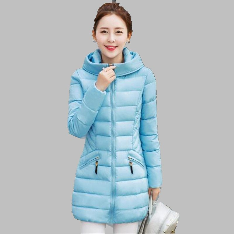 Hooded Women Winter Jacket Latest Fashion Leisure Slim Coat Dig yards Long sleeve Warm Cotton Down jacket Charm Womens G2723Одежда и ак�е��уары<br><br><br>Aliexpress